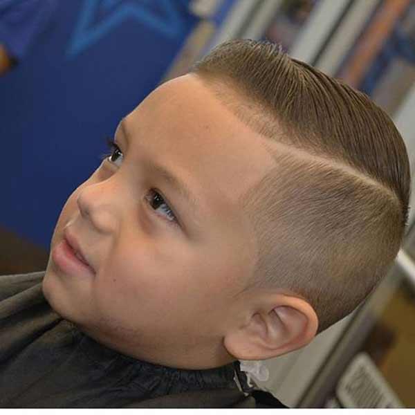 Прически для коротких волос для мальчиков