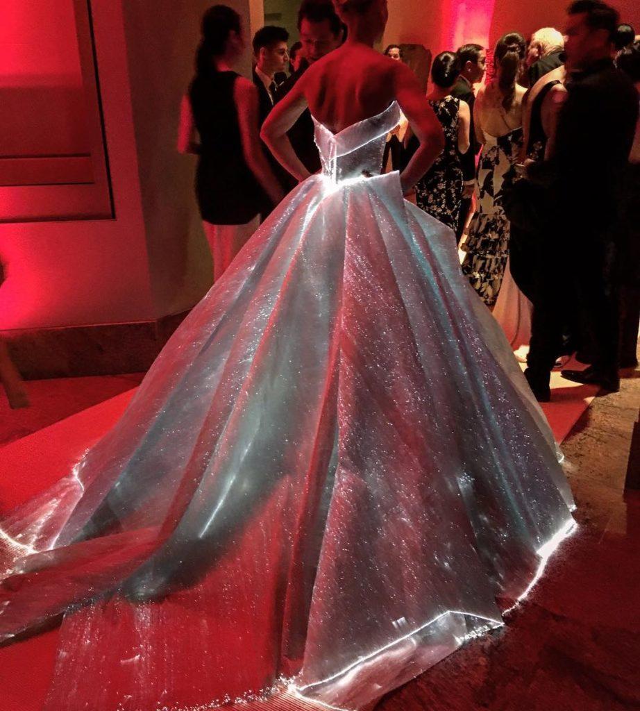 Сказочное пышное платье