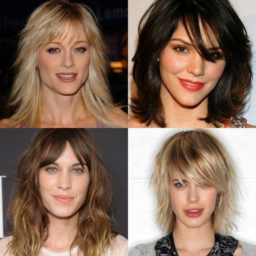 Стрижки каскада на средние волосы в домашних  30